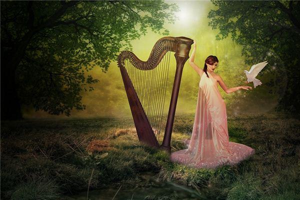 梦见竖琴是什么意思