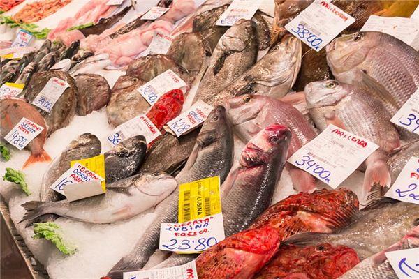 梦见鱼市是什么意思