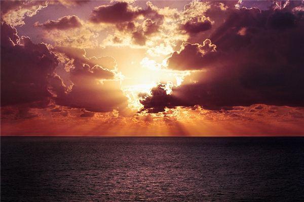 梦见海上日出是什么意思