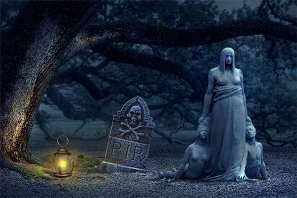 梦见坟上着火是什么意思