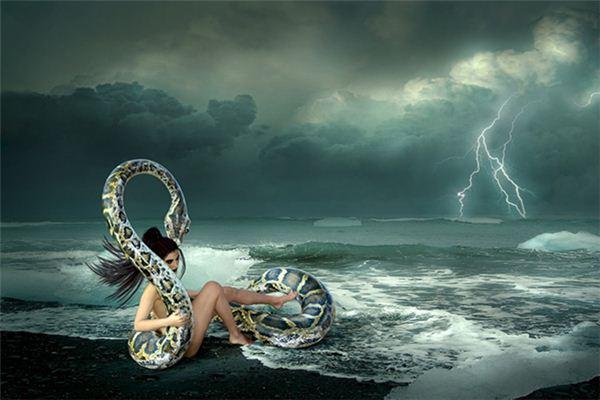 梦见蛇皮覆身是什么意思