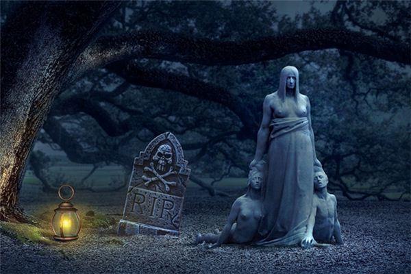 梦见田地有坟是什么意思