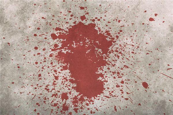 梦见死人流血是什么意思