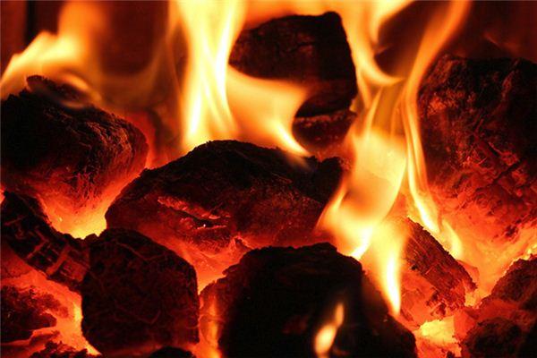 梦见水入煤火是什么意思