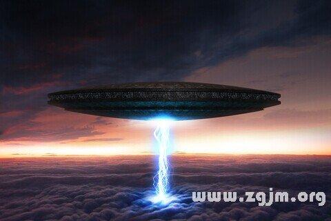 梦见飞碟 UFO