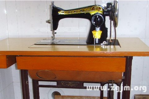 梦见缝纫机