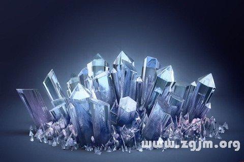 梦见矿石 石矿