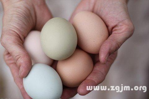 梦见捡鸡蛋