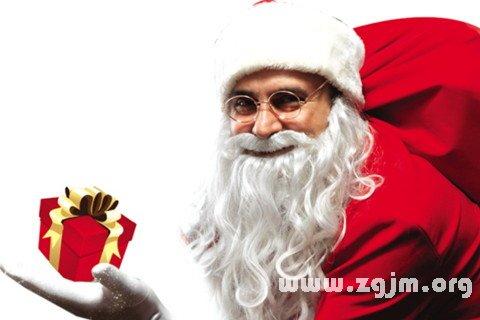 梦见圣诞老人