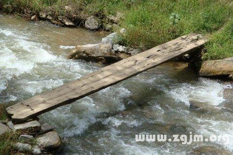 梦见独木桥