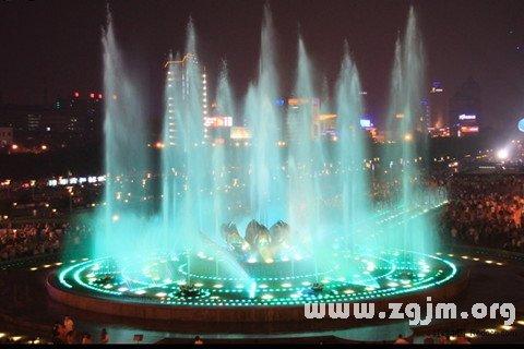 大奖娱乐平台喷泉