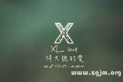 梦见字母X