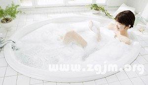 梦见准备洗澡