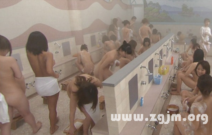 梦见浴池洗澡