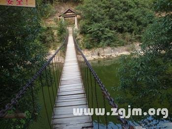 梦见走独木桥