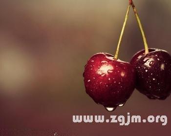 梦见买樱桃