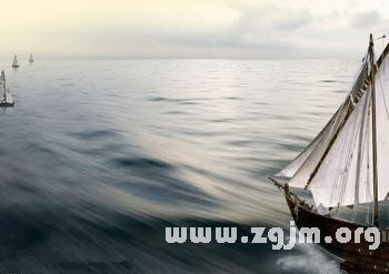 梦见航海出海