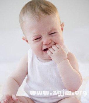 梦见婴儿哭