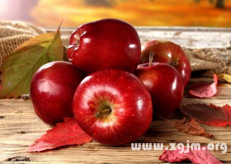 梦见红苹果
