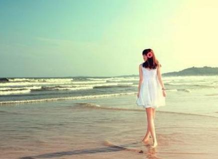 梦见一个人去海边