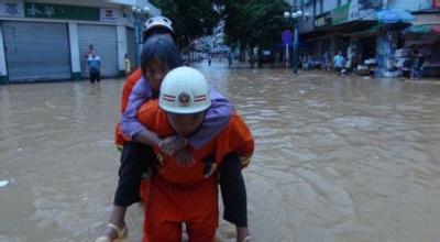 梦见发洪水救人