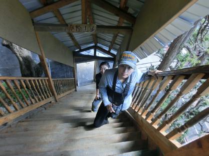 梦见爬很高的楼梯